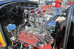 Flathead двигатель V-8 Стоковое Изображение RF