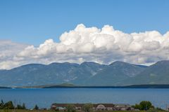 Flathead озеро Стоковая Фотография