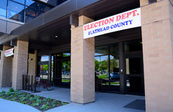 Flathead County Election Department Stock Photography