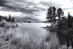 Flathead flod, Montana Arkivfoton