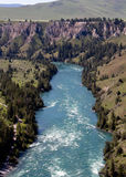 Flathead River Rapids Royalty Free Stock Photos