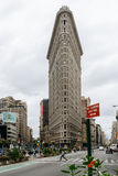 Flatiron大厦在曼哈顿中城 免版税库存图片