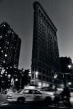 Flatiron大厦在曼哈顿纽约 免版税库存照片