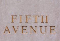 Flatiron大厦在曼哈顿 库存照片