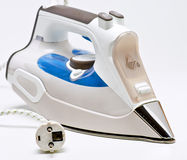 Flatiron. Modern electric steam iron soled alloy royalty free stock image