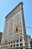 Flatiron budynek przy Miasto Nowy Jork Fotografia Stock