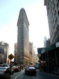 Flatiron budynku widok od ulicy Obrazy Royalty Free