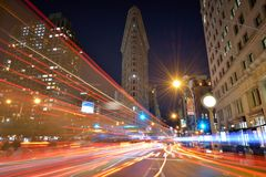 Flatiron Building Stock Photo