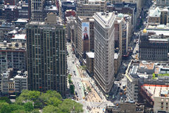 The Flatiron Building stock photography