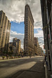 Flatiron building. The Flatiron building in golden hour Stock Image