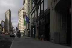 The Flatiron Building in Manhattan Stock Photos