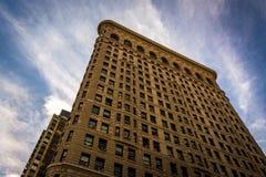 The Flatiron Building, in Manhattan, New York. Royalty Free Stock Photos