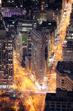 Flatiron Building in Manhattan New York City Stock Images