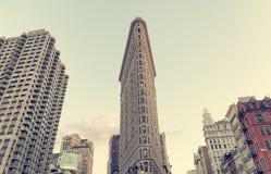 Flatiron Building in Manhattan, New York City Stock Photos