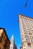 Flatiron Building in Manhattan, New York City Royalty Free Stock Photos
