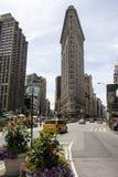 Flatiron building in Manhattan, New York Royalty Free Stock Images
