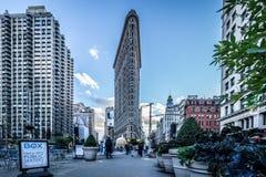 Flatiron building, Manhattan, New York, USA, October 13 2018. stock images