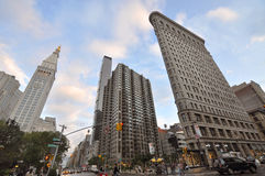 Flatiron Building, Manhattan, NYC Stock Images