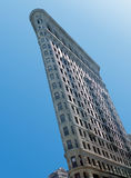Flatiron Building, New York USA. The Flatiron Building, originally called the Fuller Building, was one of the tallest buildings in New York City when built. At stock photo