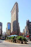 Flatiron Building in New York. Celebrate High rise situated in Manhattan in New York Stock Photos