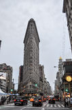 Flatiron Building in New York City Royalty Free Stock Photo
