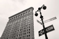 Flatiron Building, New York Stock Image