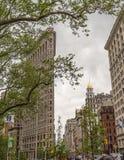 Flatiron Building in NYC Stock Photos