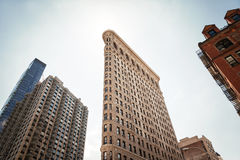 Flatiron Building at NYC Stock Photo
