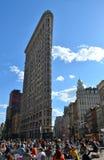 Flatiron Building, NYC, USA Stock Images