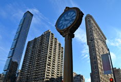 Flatiron Building, NYC, USA Royalty Free Stock Image