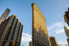 Flatiron Building. The Flatiron Building, originally the Fuller Building, is located at 175 Fifth Avenue in the borough of Manhattan, New York City, and is Royalty Free Stock Photo