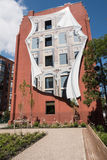 Flatiron building in Toronto in Ontario in Canada royalty free stock photos
