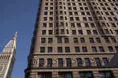 Flatiron building in Union square, New York stock photos