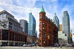Flatiron bulding в Торонто Стоковое Изображение