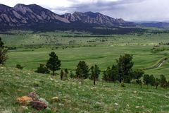 Flatiron Colorado Imagem de Stock Royalty Free