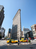 flatiron de construction Images libres de droits