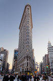 flatiron de construction Photographie stock libre de droits