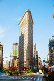 Flatiron (Fuller) building in NYC in the morning Stock Photo