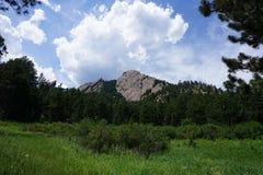 Flatiron mountain royalty free stock photos