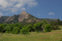 Flatiron Mountain Royalty Free Stock Photography