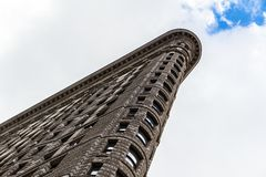 flatiron New York здания стоковая фотография