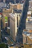 Flatiron in New York Royalty Free Stock Photos