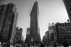 Flatiron on New York city Royalty Free Stock Image
