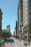 flatiron New York för stadsområde Fotografering för Bildbyråer