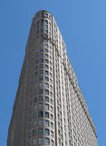 Flatiron style tall modern building Royalty Free Stock Images