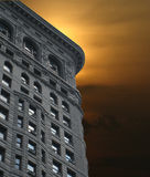 Flatiron sunset Royalty Free Stock Photo