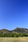 Flatirons in the Distance. The vicinities of Kemer, Turkey Stock Images