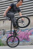 Flatland Freestyle BMX Stock Image
