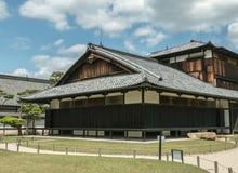 The flatland palace Nijo Castle in Kyoto. Nijo Castle also known as Second Palace, Ninomaru Palace, a flatland castle founded 1679, Kyoto. Japan Royalty Free Stock Photo