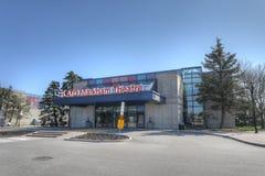 Flato Markham Theater in Markham, Canada. The Flato Markham Theater in Markham, Canada Stock Image